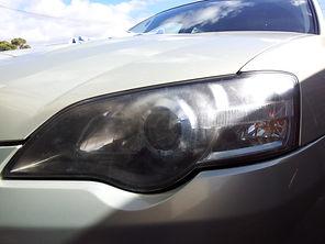 Headlight restoration Adelaide: BEFORE 02