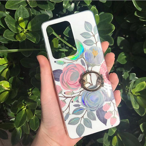 Flower Case with ring popsocket