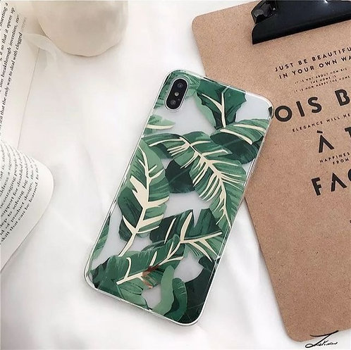 Clear Leaves Case