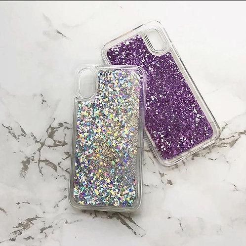 Clear Glitter Case