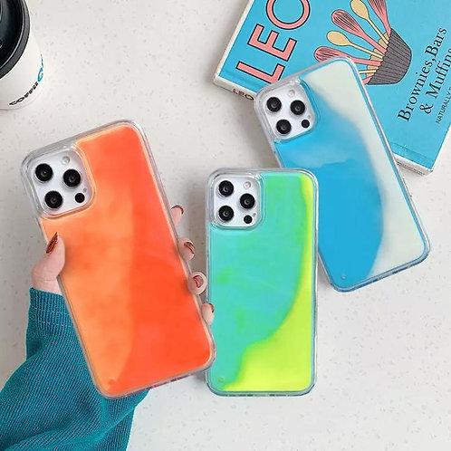 Fluo Liquid glitter cases
