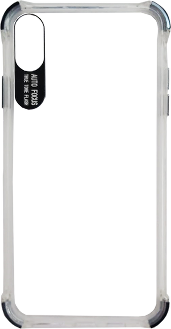 Transparent Cover with Color Details