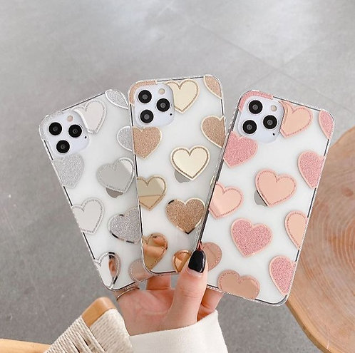 Clear Hearts Case