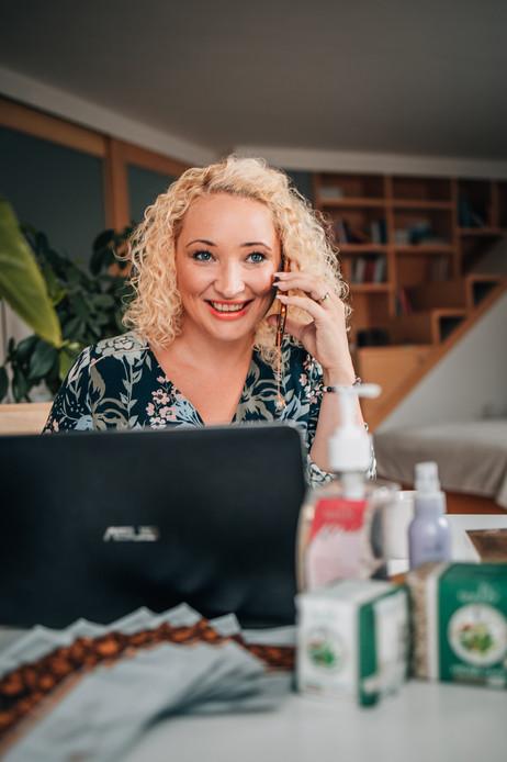 Jana Kolínková - produktové focení a firemní prezentace TianDe
