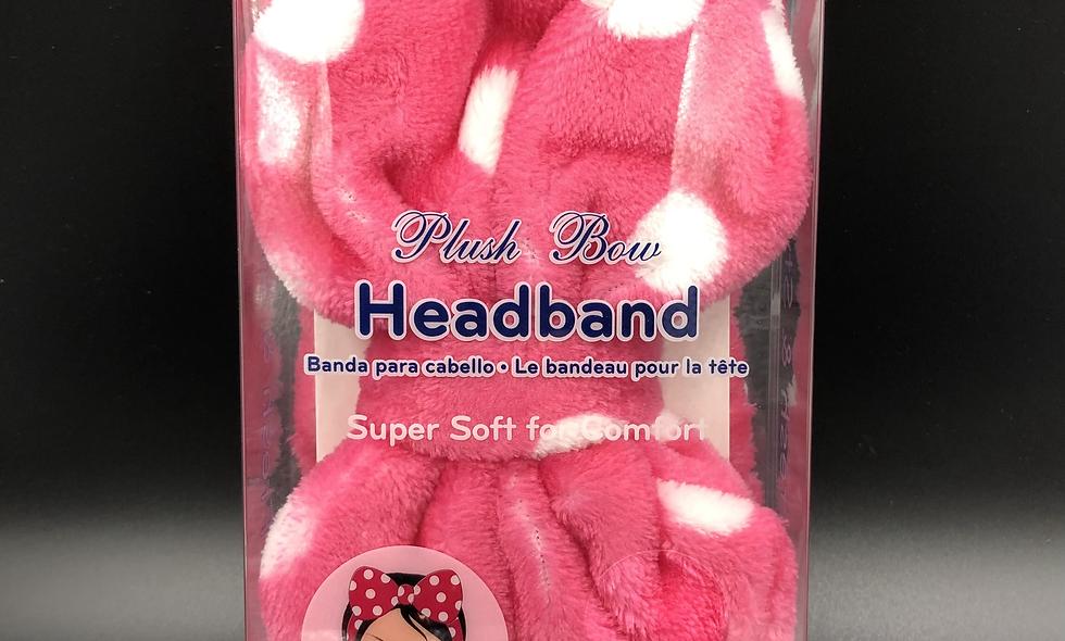 Plush Bow Headband