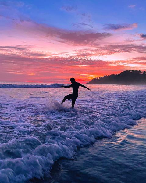 Sunset Self-Portait