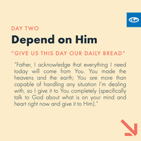 Day 2 - The Lord's Prayer (b)