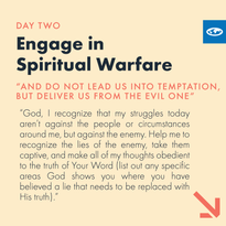 Day 2 - The Lord's Prayer (d)