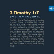 Day 5 - Praying Scripture (d)