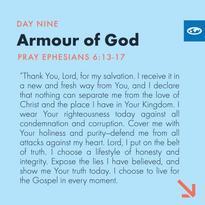 Day 9 - Warfare Prayers ( c)
