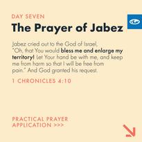 Day 7 - Prayer of Jabez (a)
