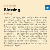 Day 7 - Prayer of Jabez ( c)