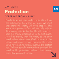 Day 8 - Prayer of Jabez (d)