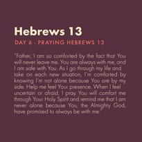 Day 6 - Praying Scripture (d)