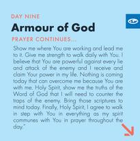Day 9 - Warfare Prayers (d)