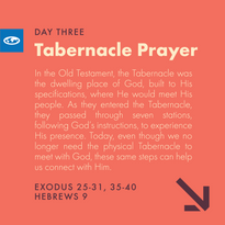 Day 3 - The Tabernacle Prayer (a)