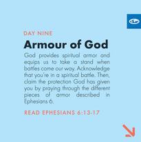 Day 9 - Warfare Prayers (b)