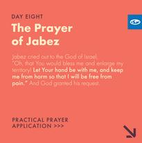 Day 8 - Prayer of Jabez (a)