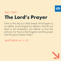 Day 2 - The Lord's Prayer (a)