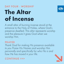 Day 4 - The Tabernacle Prayer ( c)