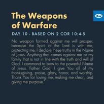 Day 10 - Warfare Prayers ( c)