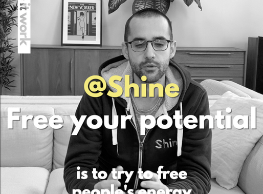 """Meet the pioneers: SHINE """"Free your potential"""""""