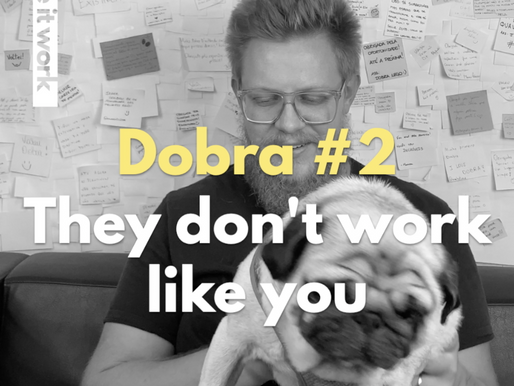 """Meet the pioneers: DOBRA #2 """"They don't work like you"""""""