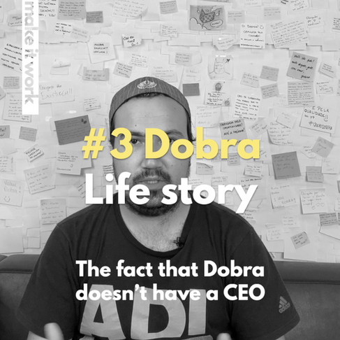 "Meet the pioneers: DOBRA #3 ""Leaving everything to join your dream company"""