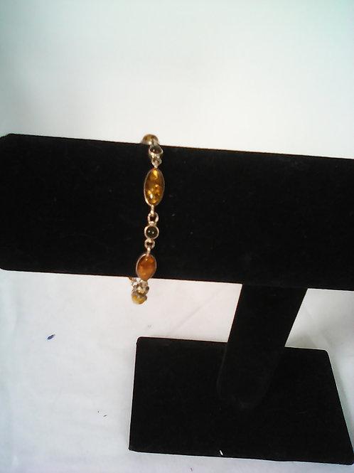 amber stone bracelet