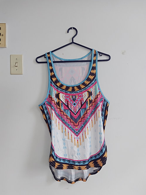 long soft summer top