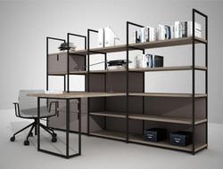proyecto interiorismo oficina global design hub barcelona 24, estanterías oficina divisorias autopor