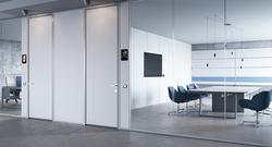 proyecto interiorismo oficina global design hub barcelona 10 meeting rooms acústicos, huddle room