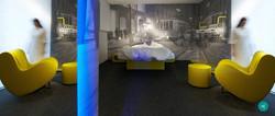 Proyecto interiorismo hotel global design hub Barcelona zonas comunes de diseño 14