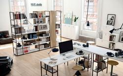 proyecto interiorismo oficina global design hub barcelona 22, estanterías oficina divisorias autopor