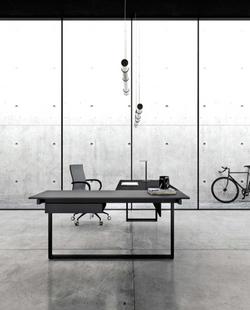 proyecto interiorismo oficina global design hub barcelona 16, mobiliario oficina, mesas de dirección