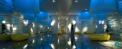 Proyecto interiorismo hotel global design hub Barcelona zonas comunes de diseño 1