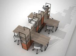proyecto interiorismo oficina global design hub barcelona 8