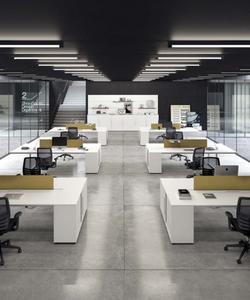 proyecto interiorismo oficina global design hub barcelona 19, mobiliario oficina, mesas operativas d