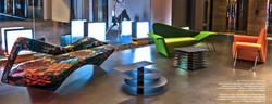 Proyecto interiorismo hotel global design hub Barcelona zonas comunes de diseño 3