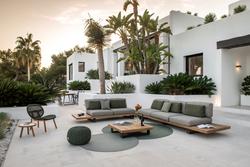 Proyecto interiorismo hotel, interiorismo espacios exteriores global design hub Barcelona  de diseño
