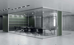 proyecto interiorismo oficina global design hub barcelona 4 meeting rooms acústicos, huddle room