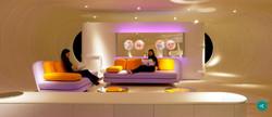 Proyecto interiorismo hotel global design hub Barcelona zonas comunes de diseño 13