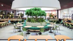 proyecto interiorismo oficina global design hub barcelona 1