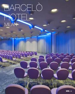 Proyecto interiorismo hotel global design hub Barcelona sala conferencias de diseño 1