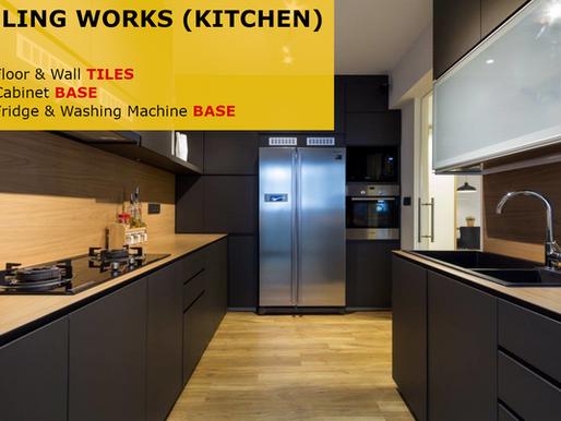 Tiling Works (Kitchen)