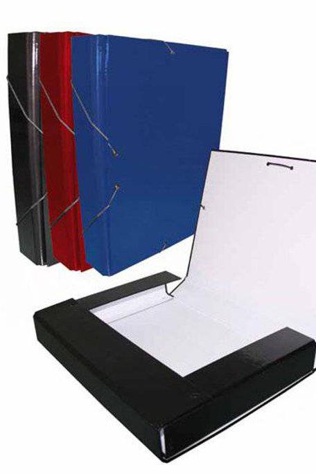 Carpeta Proyecto 5CM Lomo. Colores Negro, Azul o Rojo