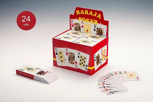 Baraja Poker Caja Máster (1 Baraja)