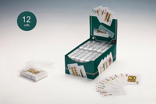 Baraja Poker Español Estuche Plástico (1 Baraja)