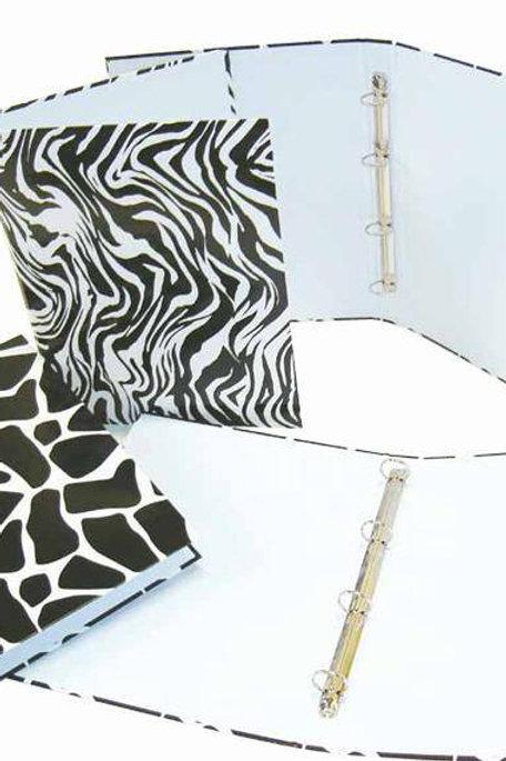Carpeta Con Mecanismo 4 Aros Safari