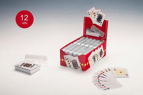 Baraja Poker Estuche Plástico (1 Baraja)
